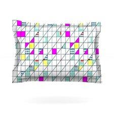 Squares by Michelle Drew Cotton Pillow Sham