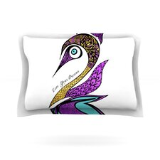 Dreams Swan by Pom Graphic Design Woven Pillow Sham