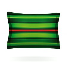 Stripes by Matthias Hennig Cotton Pillow Sham