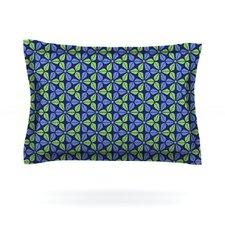 Infinite Flowers by Nick Atkinson Woven Pillow Sham
