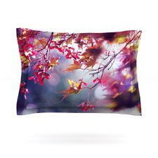 Autumn by Sylvia Cook Woven Pillow Sham