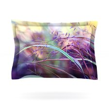 Pretty Grasses by Sylvia Cook Woven Pillow Sham