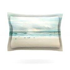 Flight by Sylvia Cook Woven Pillow Sham
