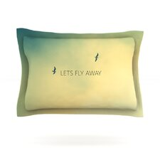 Let's Fly Away by Richard Casillas Cotton Pillow Sham