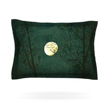 Kiss Me Goodnight by Robin Dickinson Woven Pillow Sham