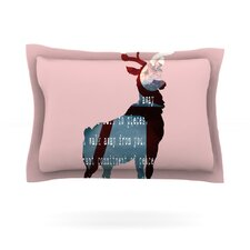 Oh Deer by Suzanne Carter Woven Pillow Sham