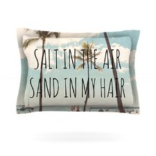 Salt in the Air by Nastasia Cook Woven Pillow Sham