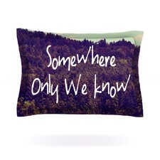 Somewhere by Rachel Burbee Cotton Pillow Sham