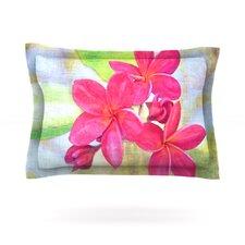 Plumeria by Sylvia Cook Woven Pillow Sham