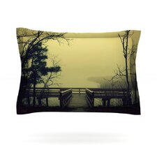 Fog on the River by Robin Dickinson Cotton Pillow Sham