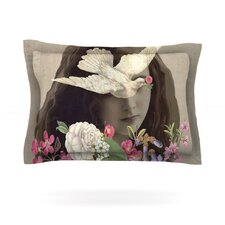 Doves Eyes by Suzanne Carter Cotton Pillow Sham