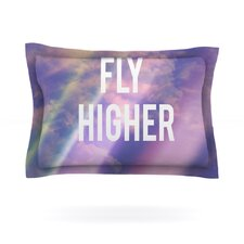 Fly Higher by Rachel Burbee Cotton Pillow Sham