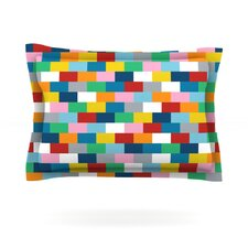 Bricks by Project M Woven Pillow Sham