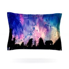 First Snow by Theresa Giolzetti Cotton Pillow Sham