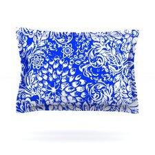 Bloom Blue for You by Vikki Salmela Cotton Pillow Sham