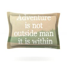 Adventure by Rachel Burbee Woven Pillow Sham