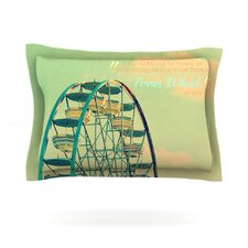Ferris Wheel by Robin Dickinson Cotton Pillow Sham