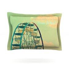 Ferris Wheel by Robin Dickinson Woven Pillow Sham