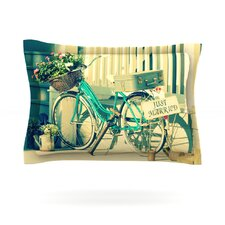 Just Married by Robin Dickinson Woven Pillow Sham