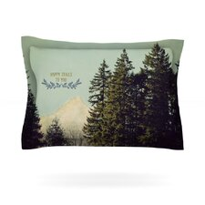 Happy Trails by Robin Dickinson Woven Pillow Sham
