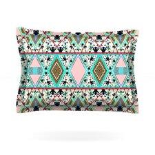 Deco Hippie by Vasare Nar Cotton Pillow Sham