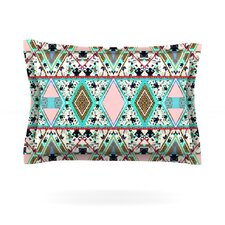 Deco Hippie by Vasare Nar Woven Pillow Sham