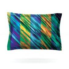 Set Stripes II by Theresa Giolzetti Cotton Pillow Sham
