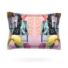 Flamingo Tropical by Vasare Nar Cotton Pillow Sham