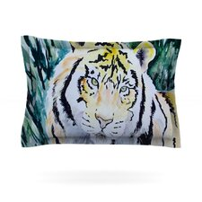 Tiger by Padgett Mason Woven Pillow Sham