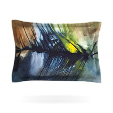 Gravity Falling by Steve Dix Woven Pillow Sham