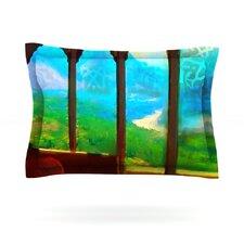 Mountain Retreat by S. Seema Z Cotton Pillow Sham