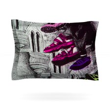Shoes in SF by Theresa Giolzetti Woven Pillow Sham