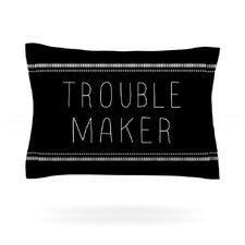 Trouble Maker by Skye Zambrana Woven Pillow Sham