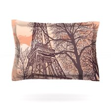 Eiffel Tower by Sam Posnick Cotton Pillow Sham