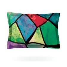 Stain Glass 1 by Theresa Giolzetti Woven Pillow Sham