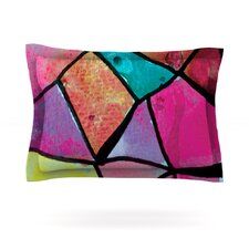 Stain Glass 3 by Theresa Giolzetti Woven Pillow Sham
