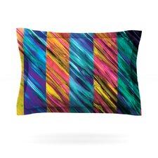Set Stripes I by Theresa Giolzetti Woven Pillow Sham