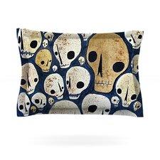 Skulls by Jaidyn Erickson Cotton Pillow Sham