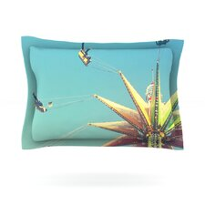 Flying Chairs by Libertad Leal Cotton Pillow Sham