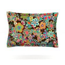 My Butterflies & Flowers by Julia Grifol Woven Pillow Sham