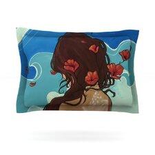Sea Swept by Lydia Martin Cotton Pillow Sham