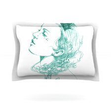 Queen of the Sea by Lydia Martin Cotton Pillow Sham