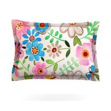 The Garden by Louise Machado Cotton Pillow Sham