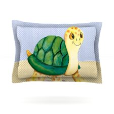 Slow and Steady by Padgett Mason Woven Pillow Sham