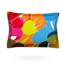 Bubbles by Matthias Hennig Cotton Pillow Sham