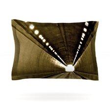 Tunnel by Maynard Logan Cotton Pillow Sham
