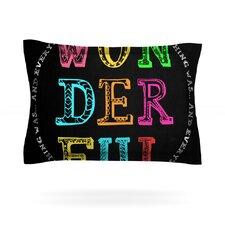 Wonderful by Skye Zambrana Cotton Pillow Sham