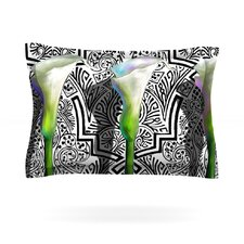 Three Lily by S. Seema Z Cotton Pillow Sham