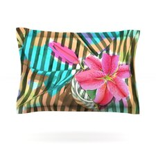Lilly n Stripes by S. Seema Z Cotton Pillow Sham