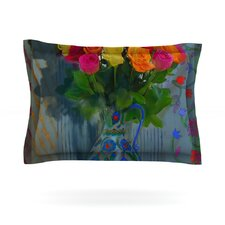 Spring Bouquet by S. Seema Z Woven Pillow Sham